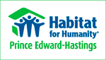 Prince Edward-Hastings Habitat for Humanity logo